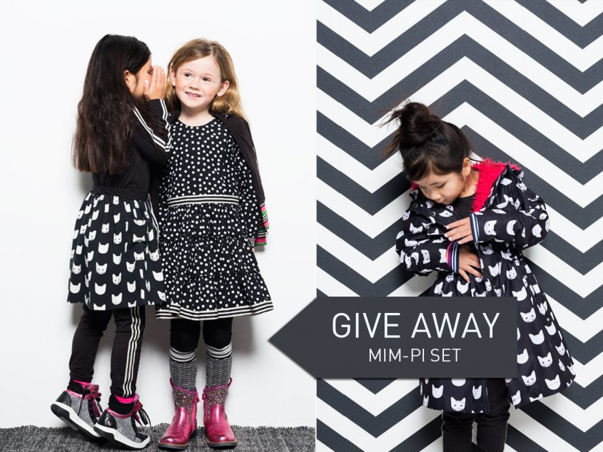Mim-Pi give away monochrome winter collectie 2016 2017