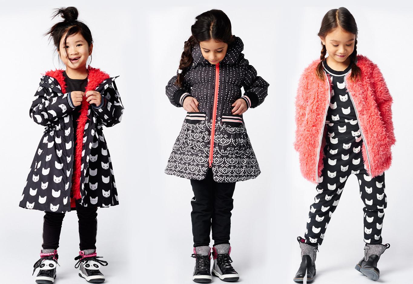 Mim-Pi winter 2016 meisjes jas winterjas kinderkleding