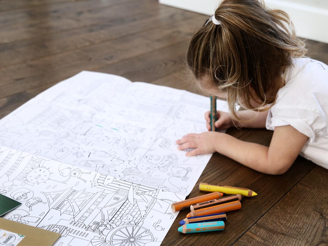 makkie kleurplaat op avontuur kidsfashion
