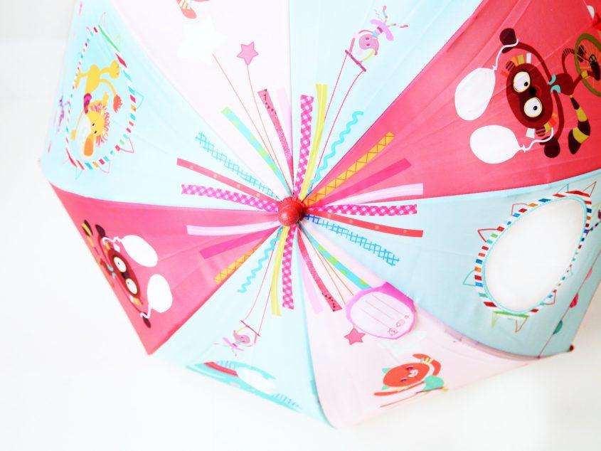 Met een paraplu van Lilliputters wordt regen een feest!
