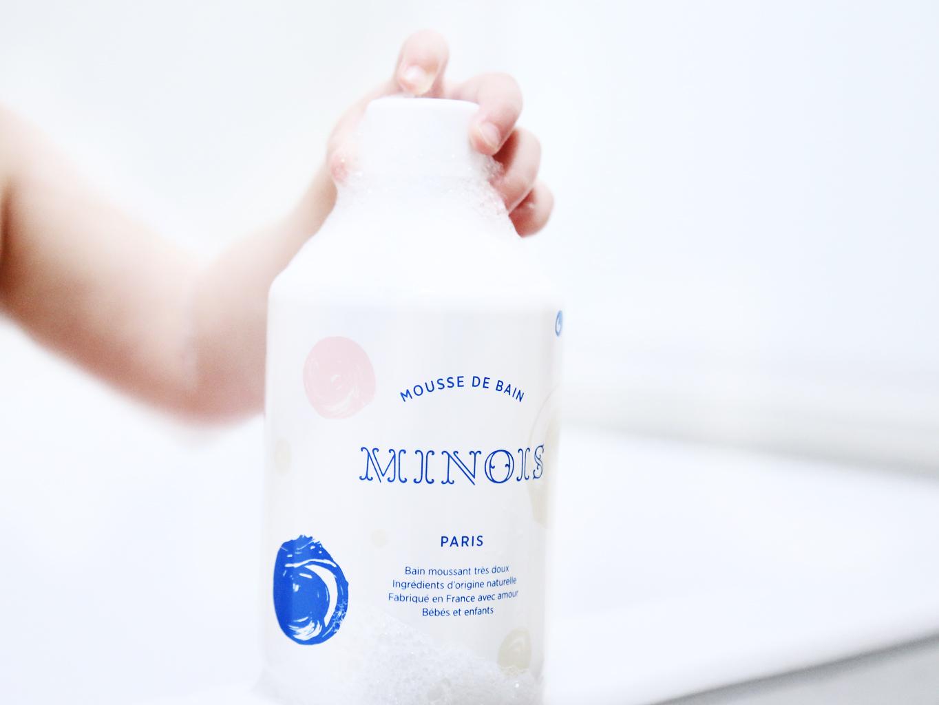 De beste badbubbels voor de baby van Minois Paris