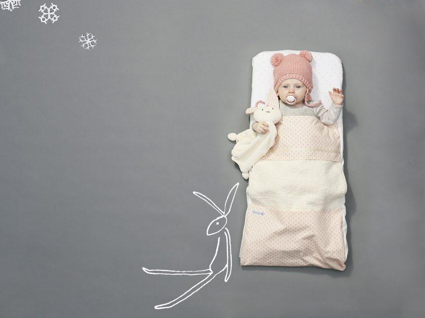 Evy+Anne sleepstyle dekentje lakentje voor kinderwagen ledikant Moosje: Unique babydekentje voor de kinderwagen