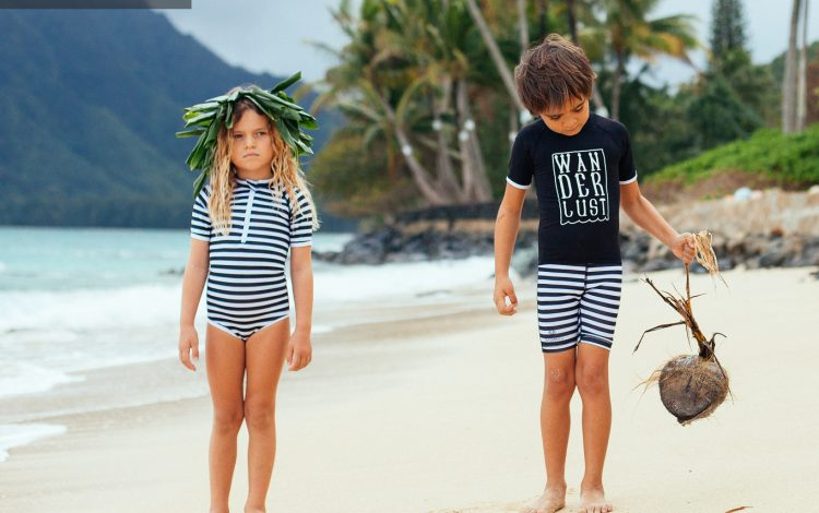 Beach & Bandits trendy UPF50 swimwear kids ss17