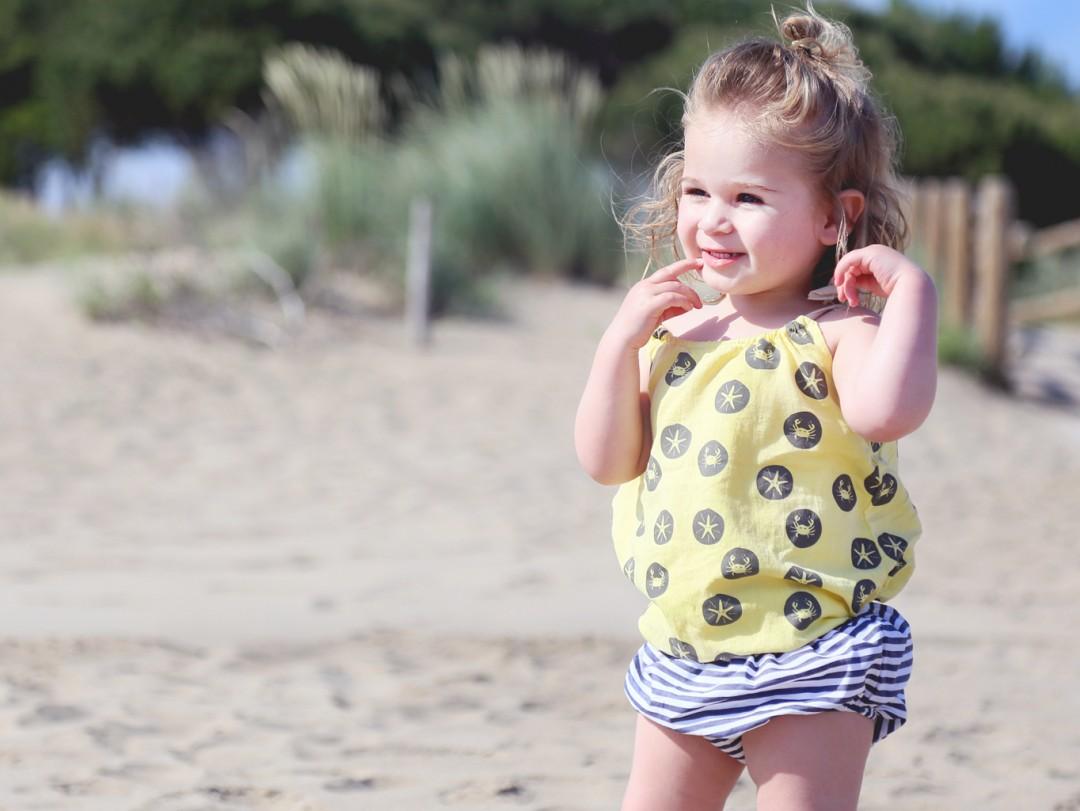 Vakantie outfit van Lotus: trendy bloomer van Piñata PUM