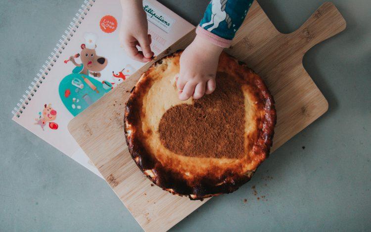 Een cheesecake recept uit het Lilliputiens kookboek