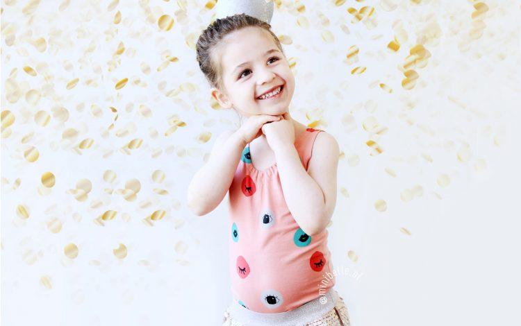 Belle 4 jaar: de mooiste verjaardagsoutfit en een superleuk feestje!