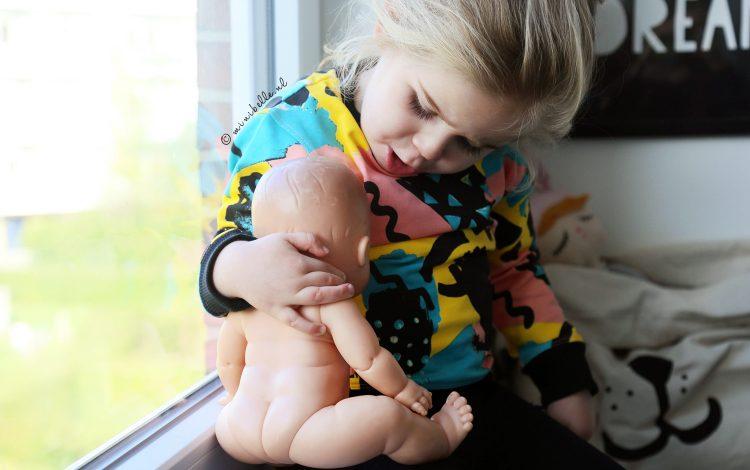 Eigenzinnig en comfortabel Ammehoela kids setje