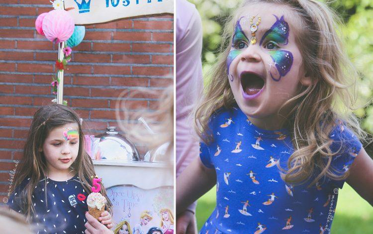 Belle 5 jaar | Het IJsprinsessen-kinderfeestje was geweldig
