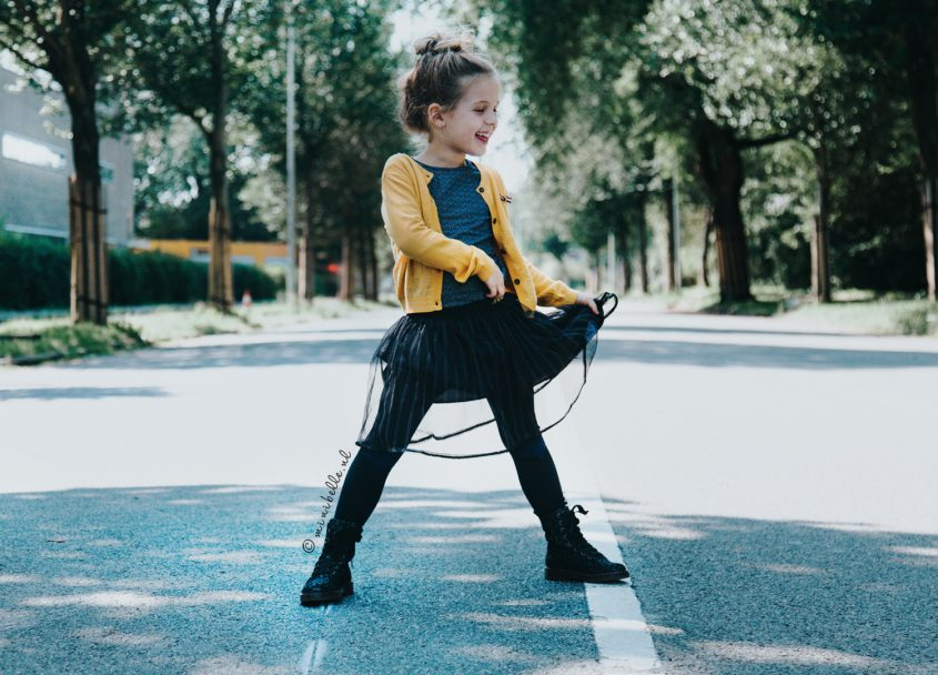 De outfit van Belle: Cool en girly Nono wintercollectie