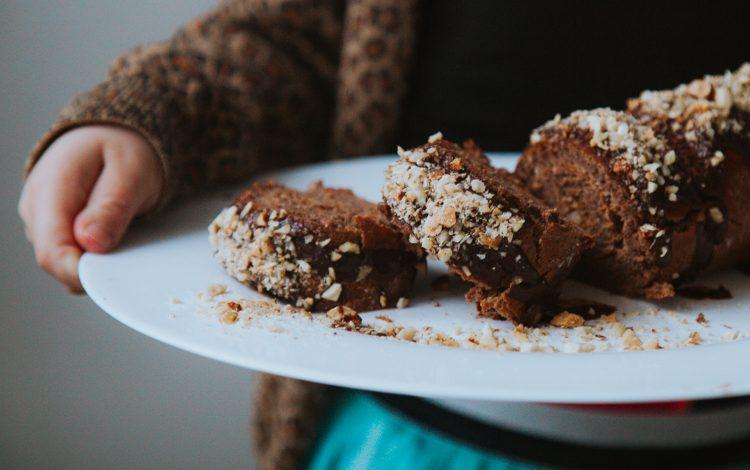 Gezond en lekker: makkelijke chocolade cake roll