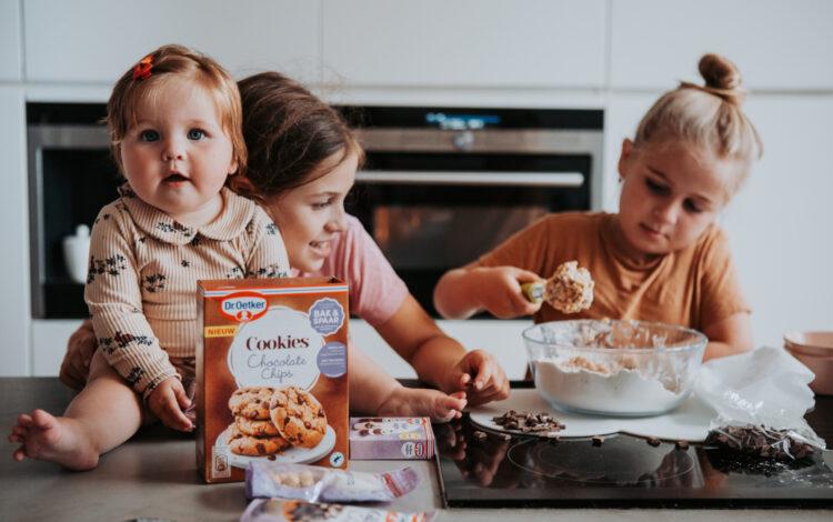 Koekjes bakken met de kinderen: gemakkelijk en snel!